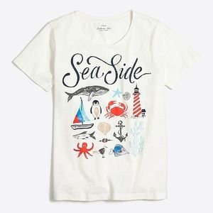 J Crew Seaside Collection Tee